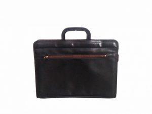 Black Briefcase Leather