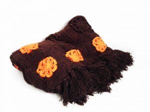 Coverlet Blanket Brown