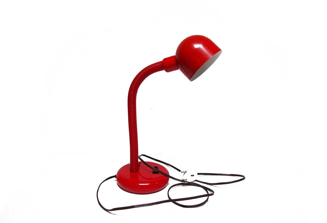 Red Desk Light